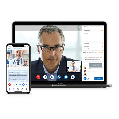 HIPAA Video Web and Mobile App Development
