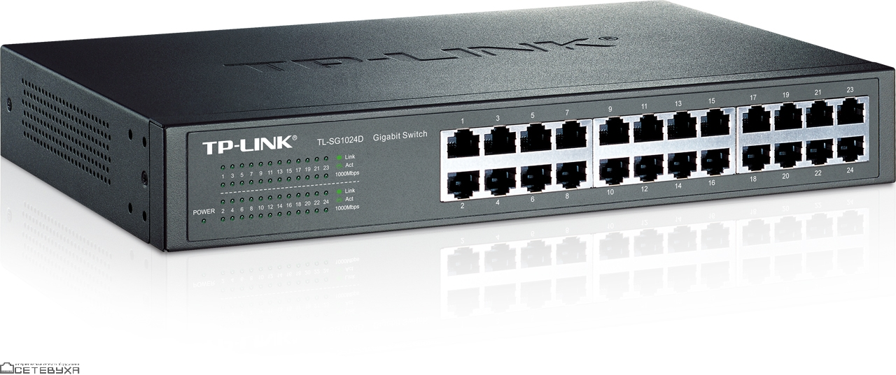 Коммутатор TP-LINK TL-SG1024D  (t)