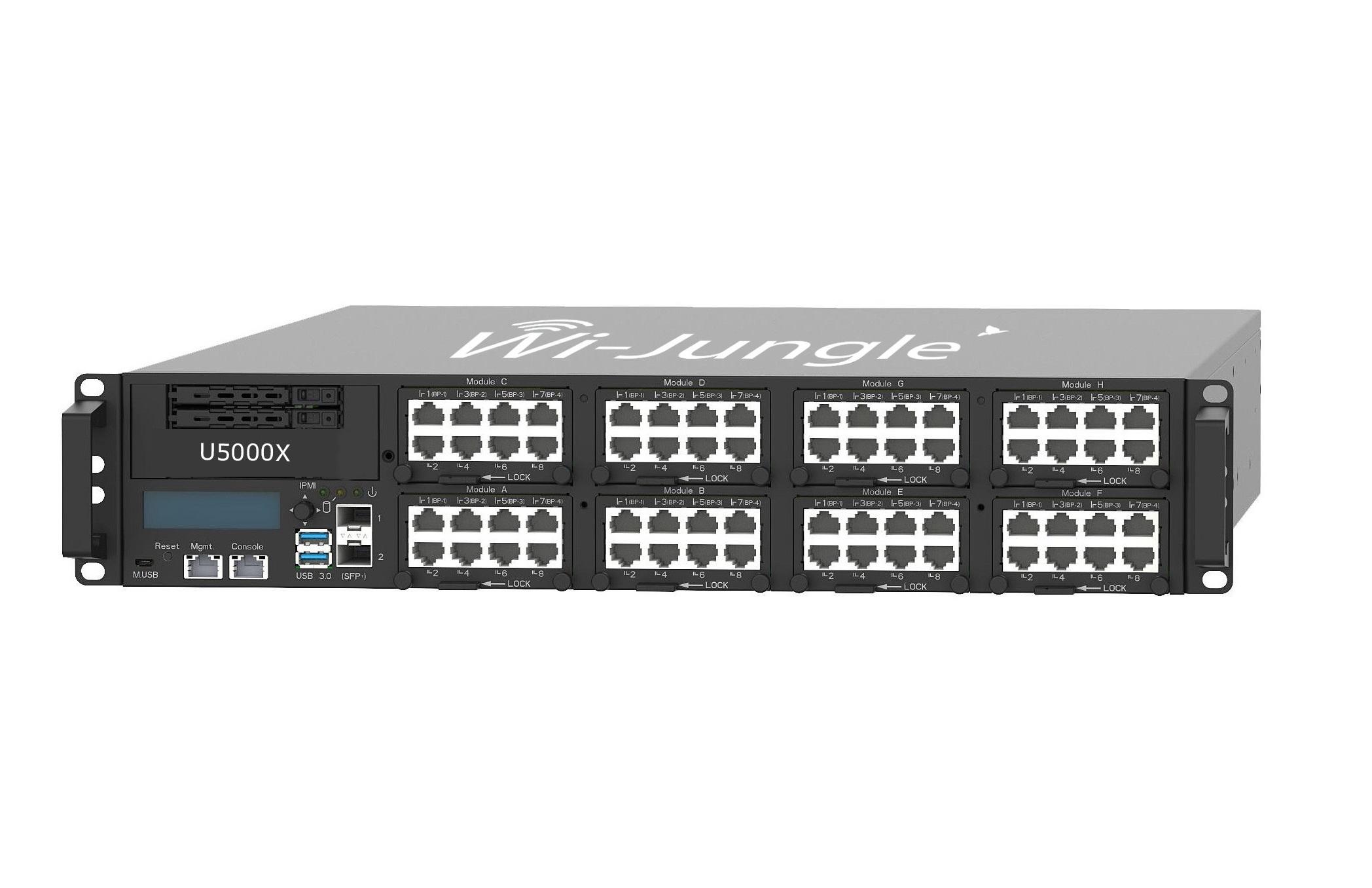 WiJungle Unified Network Security Gateway (NextGen Firewall/UTM + Web Application Firewall + Hotspot Gateway + Load Balancer Router + VPN Router) With 3 Years License