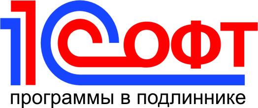 1C Soft logo