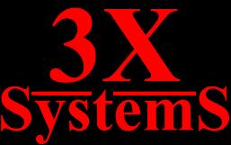 3X Systems logo