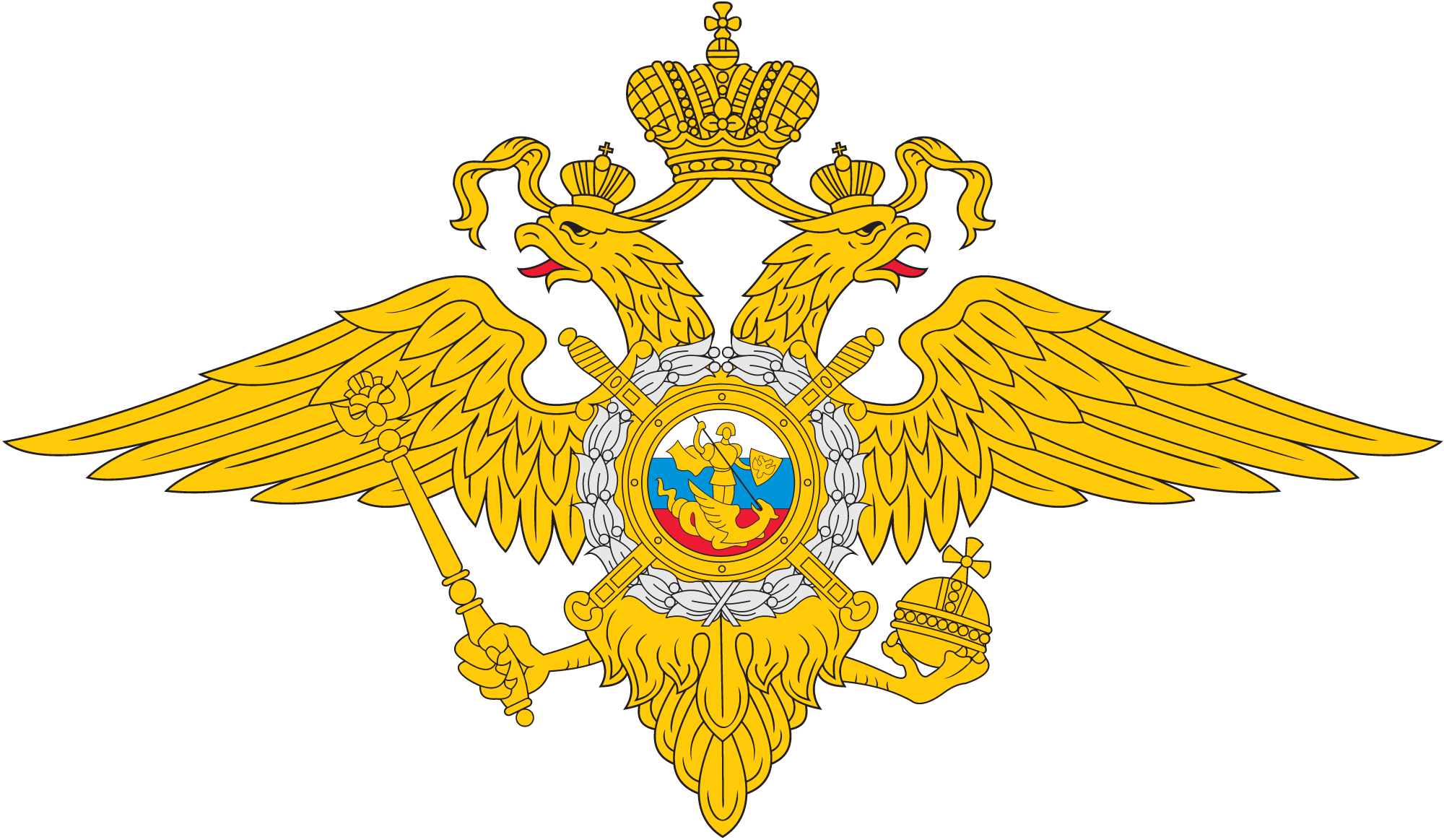 The Ministry of Internal Affairs of the Russian Federation logo