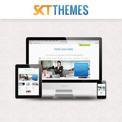 SKT Themes logo