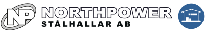 Northpower Stålhallar logo